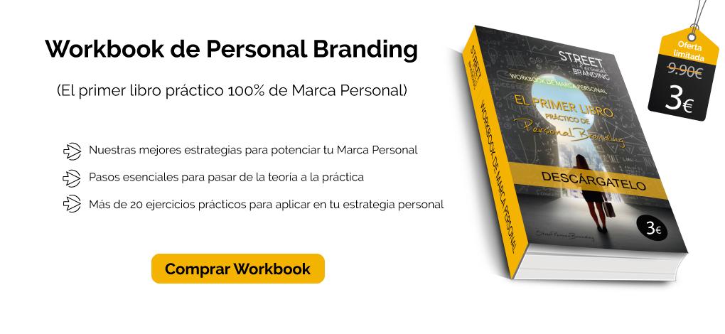 libro de marca personal en oferta workbook