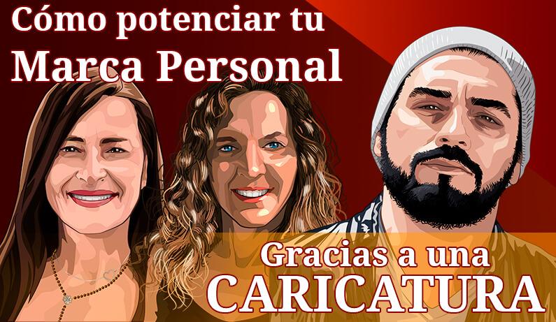 El Blog de Claudio Inacio - Cómo potenciar tu Marca Personal gracias a Caricaturas Personalizadas | Con ejemplos reales