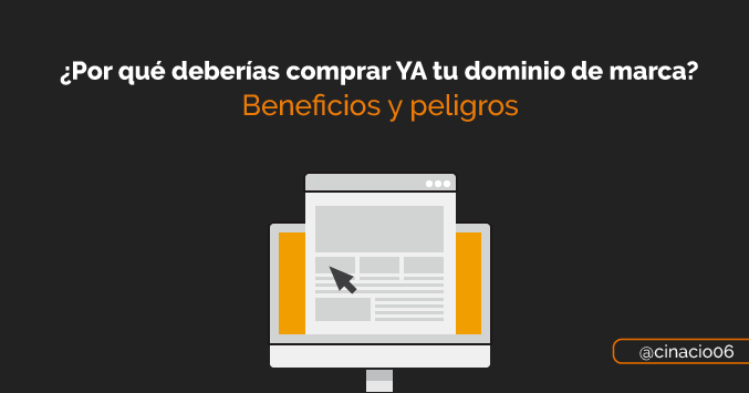 comprar solo dominio sin hosting - claves y beneficios