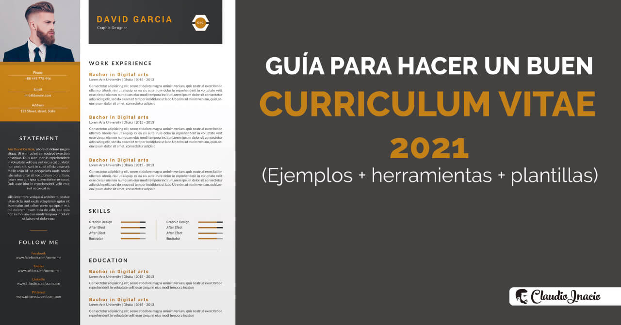 como hacer un buen curriculum vitae 2021