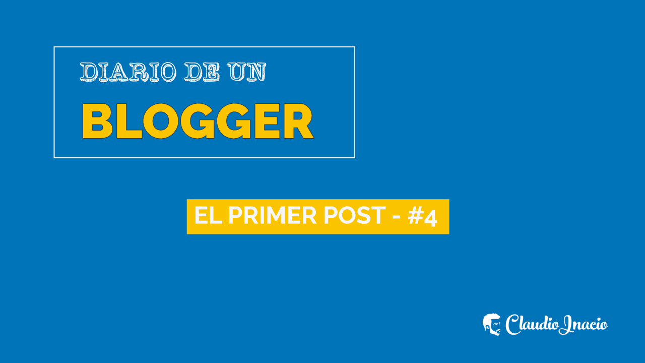 como escribir un post en un blog - el primer post e