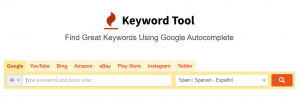 KeywordTool.io alternativas gratuitas a semrush