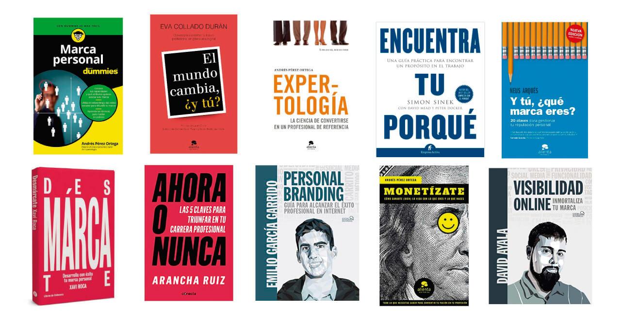 portadas mejores libros sobre marca personal recomendados