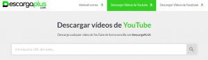 DescargaPLUS herramienta para descargar video youtube