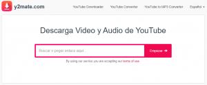 Y2mate para quién no sabe cómo descargar videos gratis