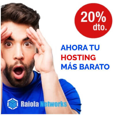 SERVIDOR VPS OPTIMIZADO - hosting Raiola Networks