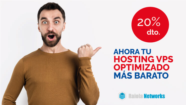 HOSTING VPS SERVIDOR OPTIMIZADO RAIOLA NETWORKS