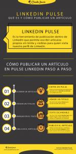 infografía que es LinkedIn Pulse y cómo publicar un artículo en LinkedIn