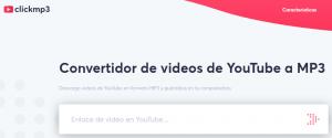 Clickmp3 convertidor de videos
