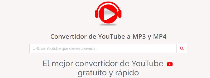 convertidor youtube mp4