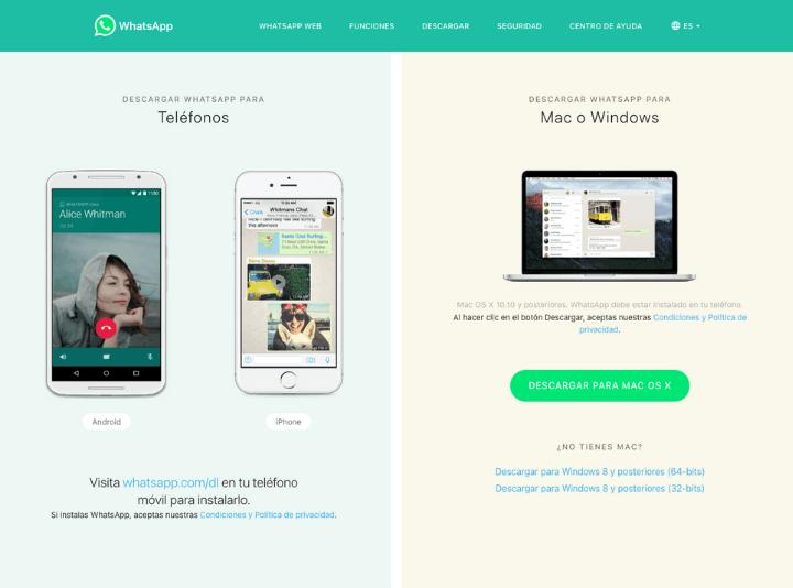 pasos para saber como descargar programa de whatsapp web