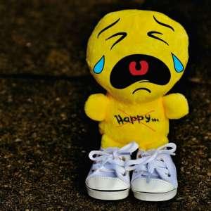 muñeco llorando por no0 saber los siguientes pasos