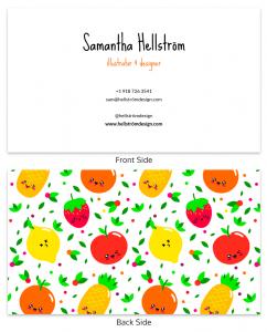 ejemplos de tarjetas de presentación