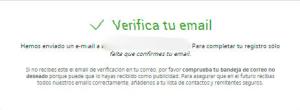 verificar cuenta infoempleo por email