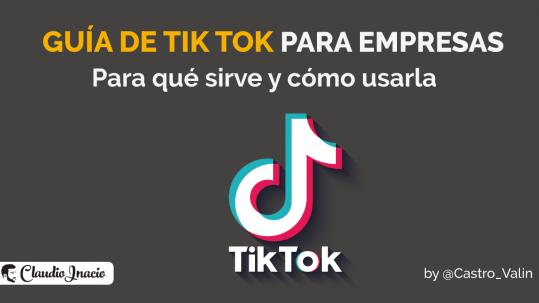 Qué es Tik Tok para empresas - guía 2021 para principiantes