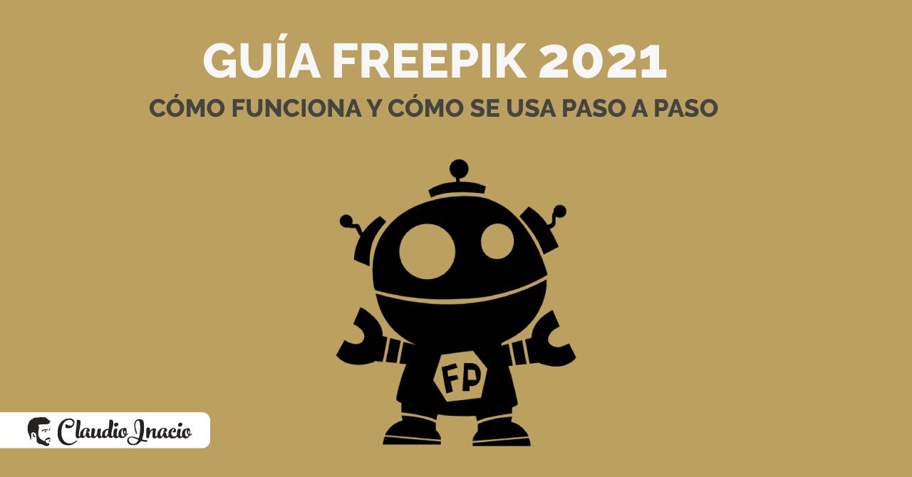 Qué es y cómo funciona Freepik
