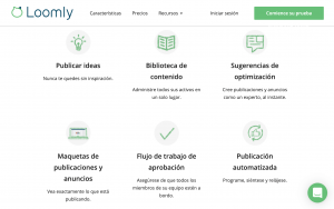 loomly app para programar redes sociales