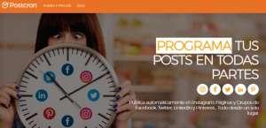 postcron aplicaciones similares a hootsuite