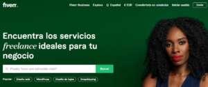 Mujer en Fiverr España